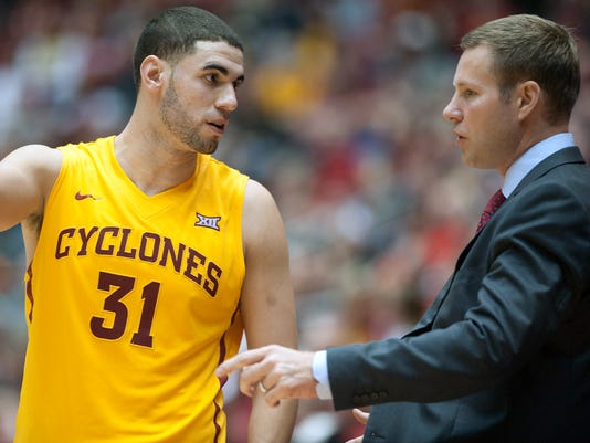 NCAA Basketball: Oakland at Iowa State