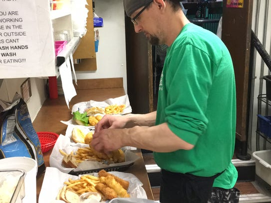 Jeff Mozuch, kitchen manager at Point After Pub & Grill,