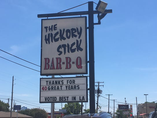 The 40th anniversary of Hickory Stick restaurant in