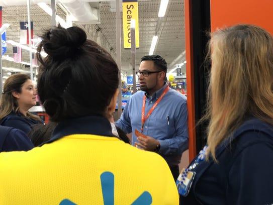 Adan Campos, head market coach for Walmart's San Antonio