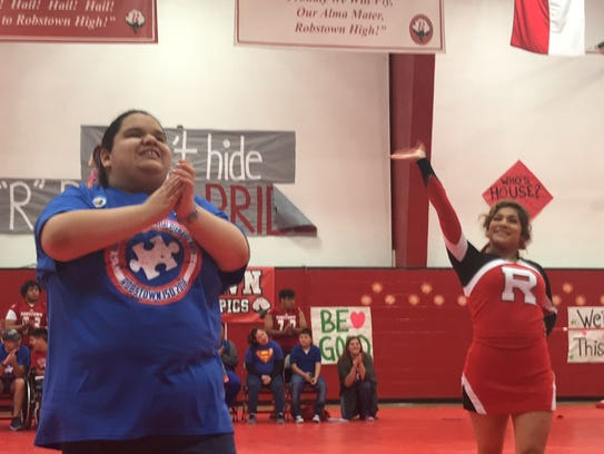 A student with special needs joins Robstown High School