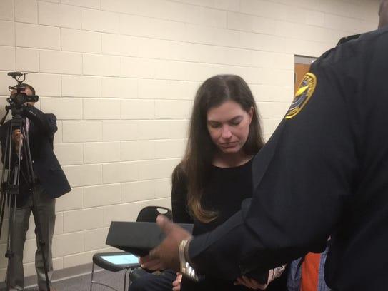 Robin Deen, widow of fallen Hattiesburg police officer