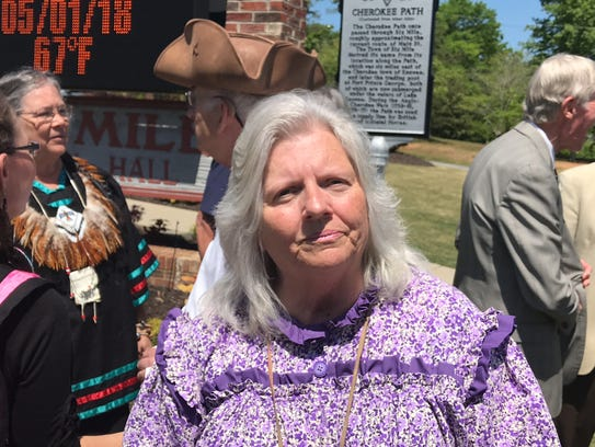 Louise Worthy, chief of SC Cherokees.