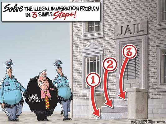 How to solve the illegal immigration problem