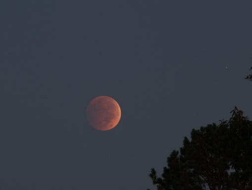 blood moon today in texas - photo #28