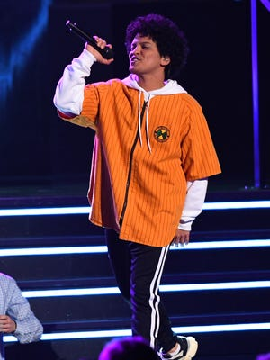 Bruno Mars is the big headliner at this year's Lollapalooza, taking place in Chicago Aug. 2 to 5.