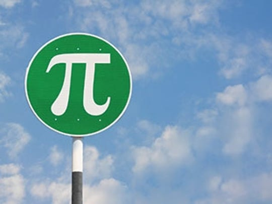 Pi Day is March 14.