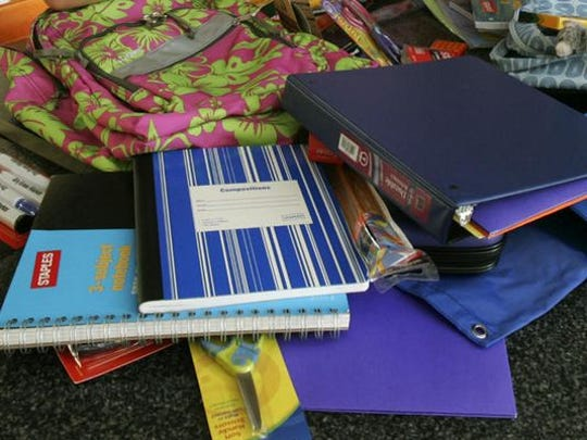 Folders, binders, notebooks and more will all be tax exempt this weekend in both Arkansas and Missouri.