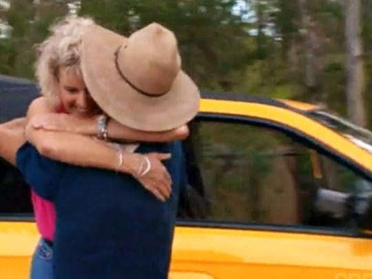 """Season 2: Colby Donaldson is reunited with his mother. On Survivor: The Australian Outback, Colby Donaldson was completely blown away after receiving a shiny new car as part of his Reward. But, the moment that really took his breath away was when his mother showed up behind him with a platter of food...  Watch """"The Final Four"""" (Episode 14, Season 2) to relive the emotional moment where Colby got to share his special reward alongside his mother."""