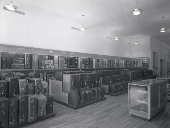 Porter's store interior.