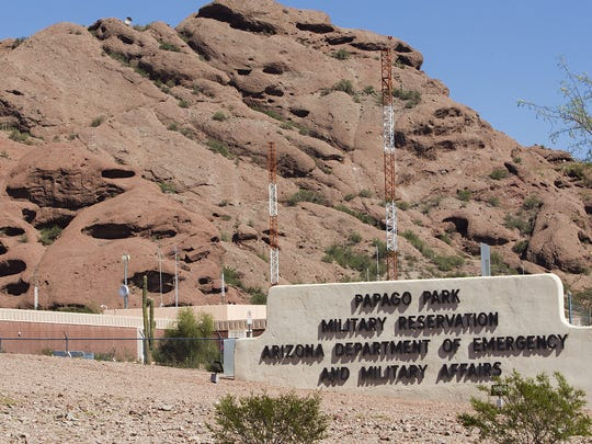 The Arizona National Guard's operation headquarters is at Papago Park Military Reservation in Phoenix