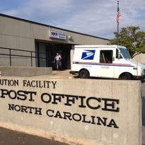 The Brevard Road mail processing facility has moved most of its operations to Greenville, South Carolina, but the bulk mail center remains open.
