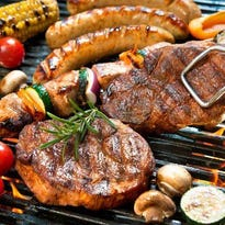 Meat should be cooked thoroughly to help prevent food poisoning.