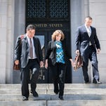 Wanda Greene, son plead not guilty in federal court Friday