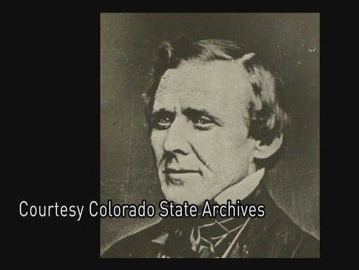 Photo taken in 1862, before Gov. John Evans even traveled