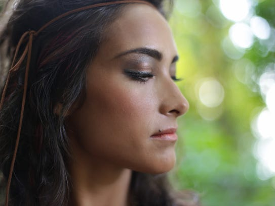 A tiny amount of mineral makeup goes a long way – start