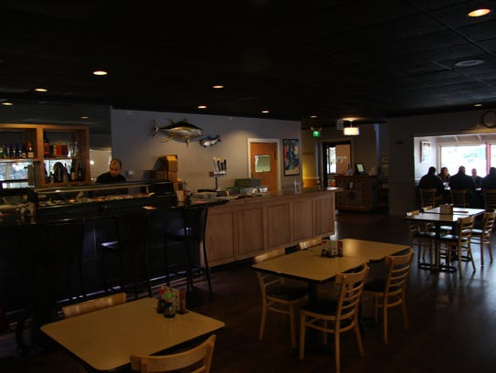 Tiga Sushi Bar and Asian Bistro opened in January 2014