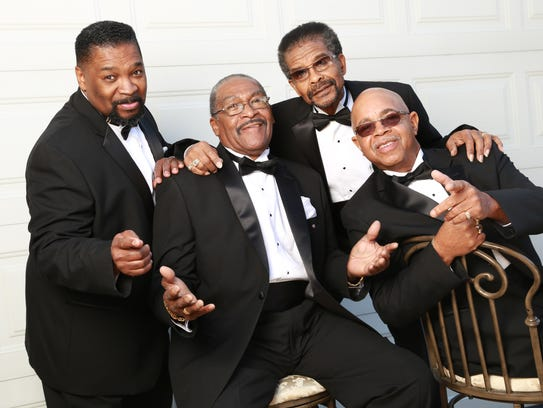 The Fairfield Four are, from left, Larrice Byrd Sr.,