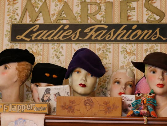 Dawn Steckmesser has an interest in collecting mannequin