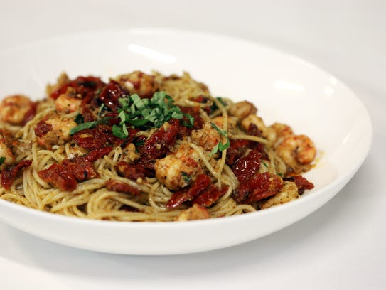Crawfish Cecilia is one of the new menu items at Ruffino's