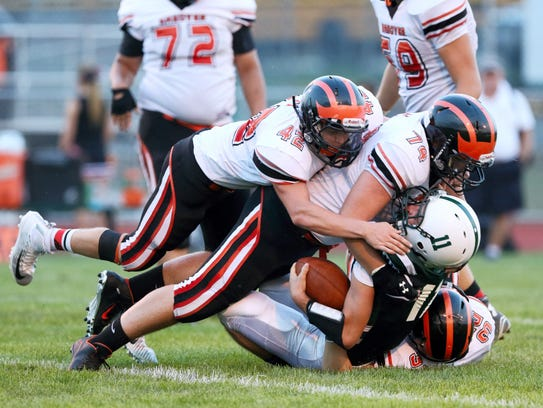 The Hanover football team started 8-0 for the first