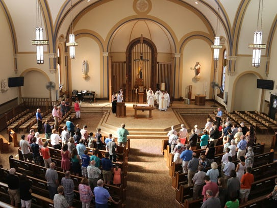 The historic St. Mary Church in Fond du Lac was recently