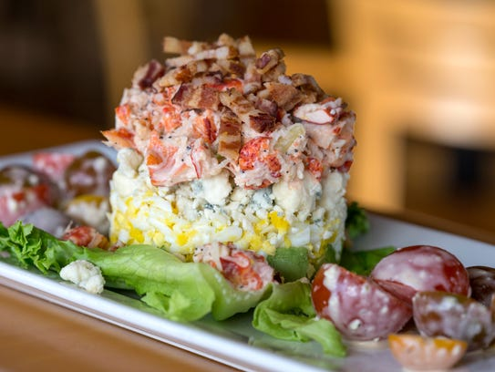 Embers Ski Lodge lobster cobb salad
