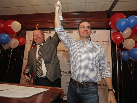 Newly-elected 8th District congressman Mike Gallagher,