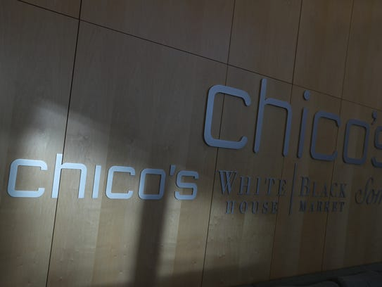Inside the Chico's FAS headquarters in Fort Myers.