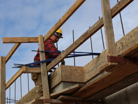 Construction was the fastest-growing sector in Utah last year, at 8.5 percent, according to a Department of Workforce Services report.