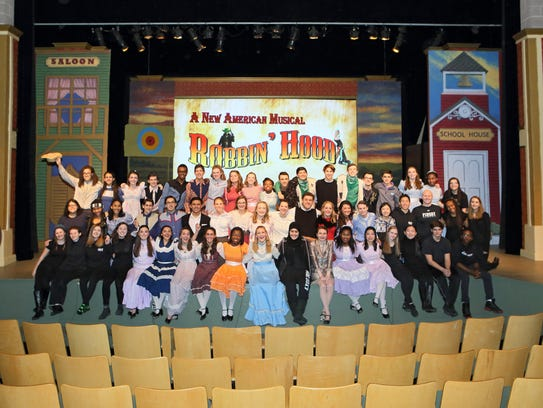 "Pingry's Departments of Drama and Music presented ""Curtains"""