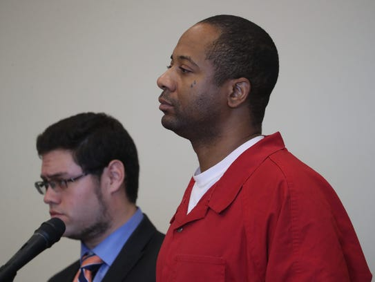 Javon Duncan appears in court recently.