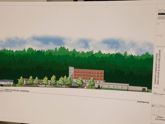 A rendering of the future Tompkins Community Action