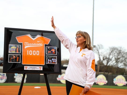Tennessee co-head coach Karen Weekly has a 1,021-340-2