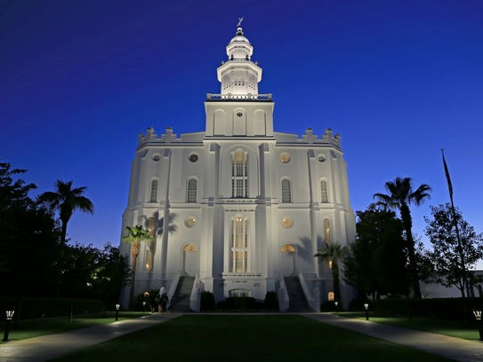 The St. George Utah Temple of The Church of Jesus Christ