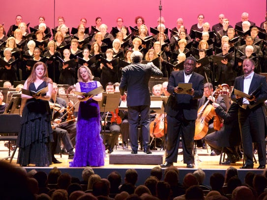 The May Festival Chorus, soloists and Markus Stenz,