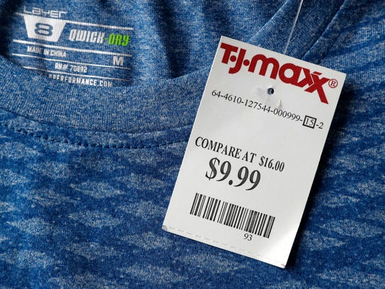 This Tuesday, May 16, 2017, photo shows a price tag