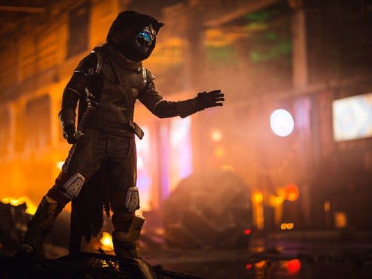 Filming in Detroit's Packard Plant for new 'Destiny