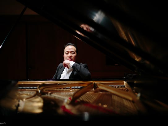 Pianist Sung Chang will accompany Etienne Gara on works