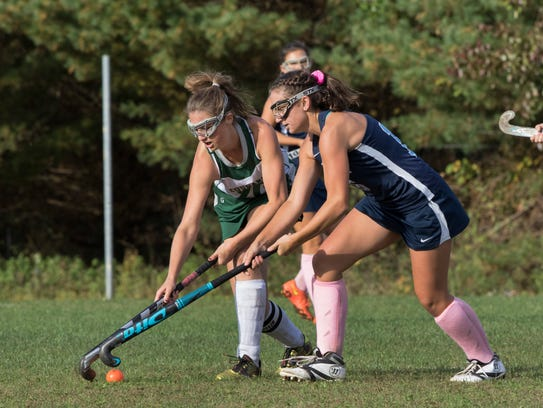 Colts Neck's Madison Bellows and Freehold Township's