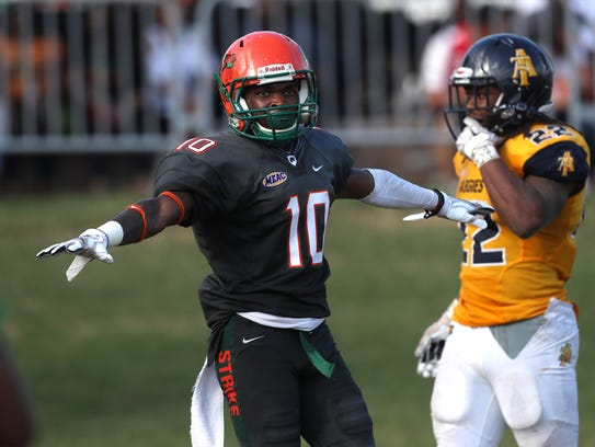 FAMU's Orlando McKinley and the rest of the team's secondary will have to stop Howard quarterback Caylin Newton, who averages just over 18 yards per completion.