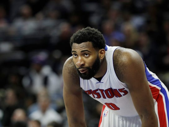 Pistons center Andre Drummond has been making his free