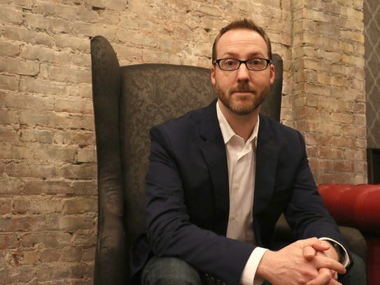 """Author Aaron Mahnke's """"Lore"""" has found success as a podcast, book series and TV show. Meet him Saturday at Joseph-Beth Booksellers at Rookwood Commons."""