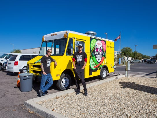 The New Mexican food truck with owner Jason Leifeste,