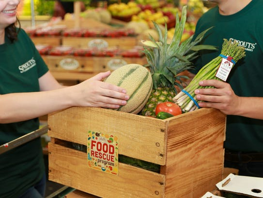 Sprouts Farmers Market donates food products that don't