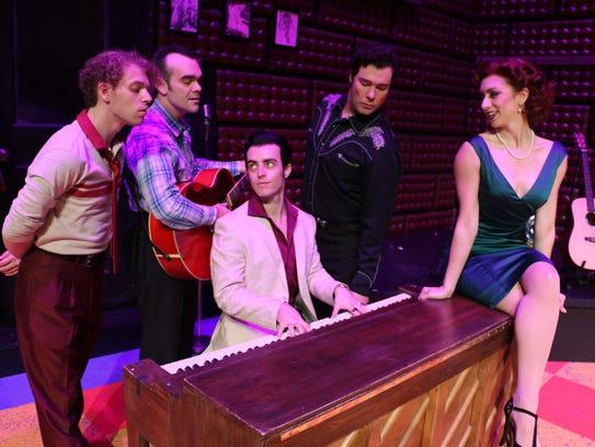 'Million Dollar Quartet' opens Jan. 2 at the Riverside