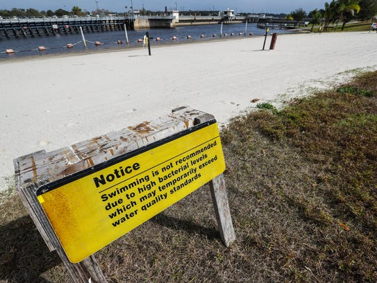 The Franklin Lock beach, which may close for good,