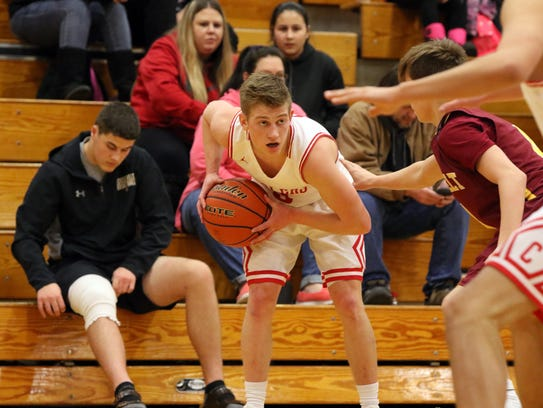 Rapid City Central's Dylan Hay is one of the state's top point guards.