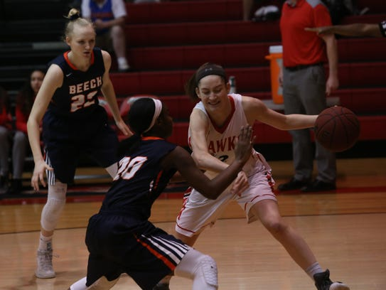 Beech's full court defense gave Rossview fits during