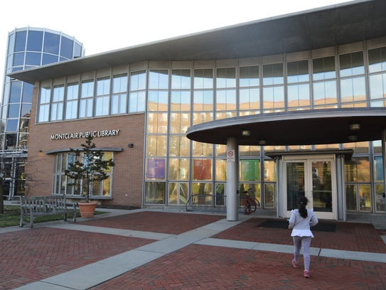 Exterior of the Montclair Public Library.